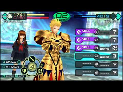 Fate Extra CCC: Gilgamesh Noble Phantasm event.