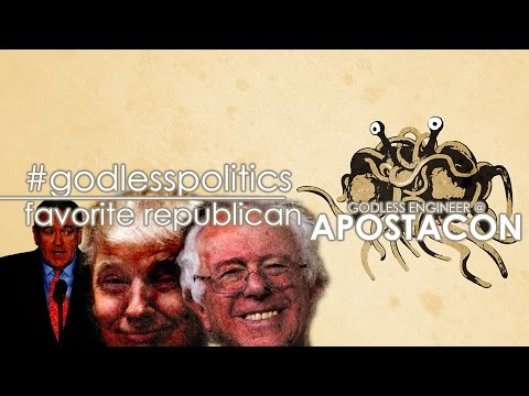Apostacon: Who is your favorite republican presidential candidate