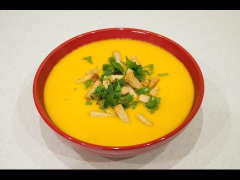Морковный суп-пюре (постный)
