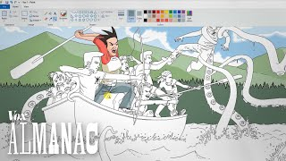 How an MS Paint artist made this picture by : Vox