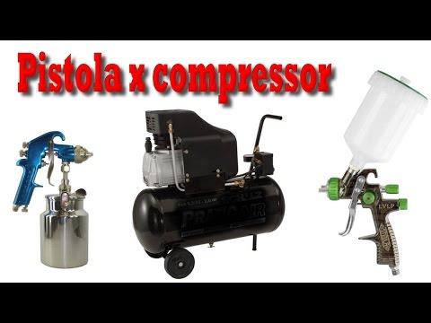 Como escolher pistola de pintura para compressor 24 litros