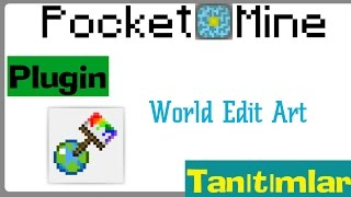 Pocketmine MP WorldEditArt Plugin Tanıtımı