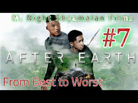 After Earth - M. Night Shyamalan Films | From Best To Worst - Spoiler Review | Movie Knight!