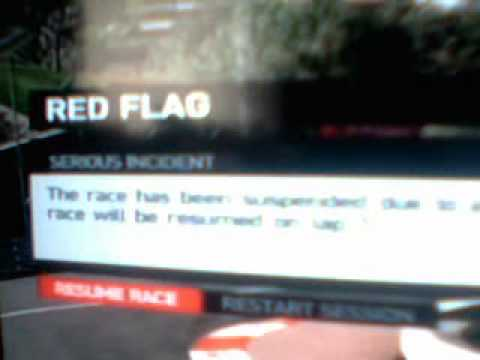 F1 2011 First Red Flag