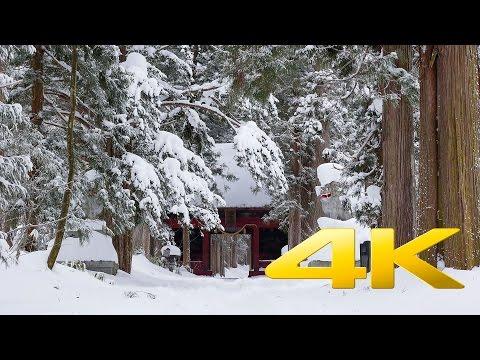 Nagano Zuishinmon Gate - 随神門 - 4K Ultra HD