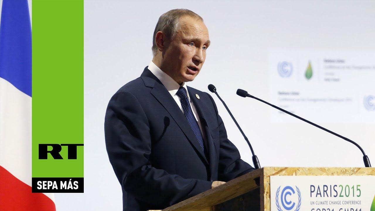 COP21: Intervención completa de Putin en la Cumbre del Clima de ParÍs (ESPAÑOL)