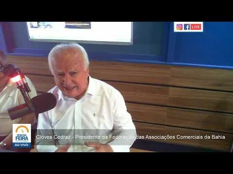 Presidente da Federação das Associações Comerciais da Bahia fala sobre perspectivas de crescimento