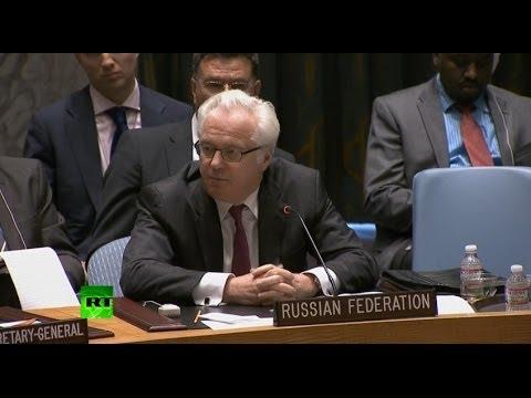 Чуркин: Убийство десятков человек в Совбезе называют «сдержанностью»