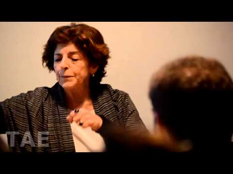 Entrevista Pública a Cristina Banegas sobre Alberto Ure, por Silvio Lang