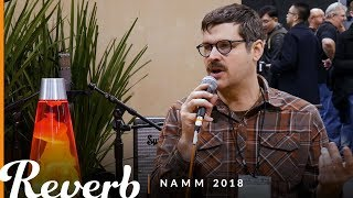 Kurt Ballou of Converge at the Reverb Booth | Winter NAMM 2018
