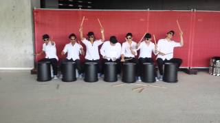 Bucket Drum - stickStoff @ Novartis Campus Day