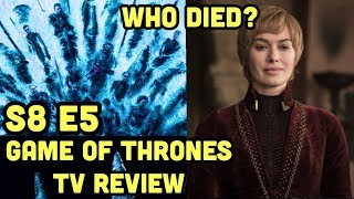 "GAME OF THRONES: Season 8 Episode 5 Recap/Review LIVE (MY GOD) "" The Bells"""