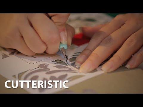 MLDSPOT TV - Cutteristic, Seni Potong Kertas yang Memiliki Keunikan