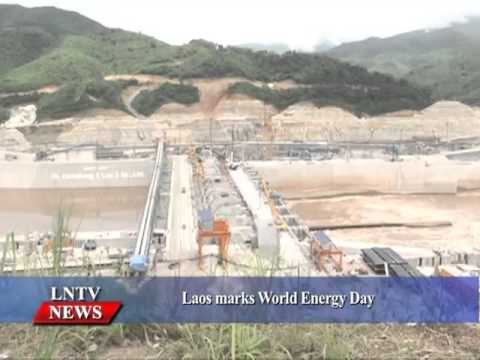 Lao NEWS on LNTV: Laos marks World Energy Day.22/10/2015
