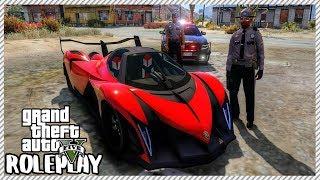 GTA 5 Roleplay - Police Officer vs 5000hp Devel Sixteen | RedlineRP #27