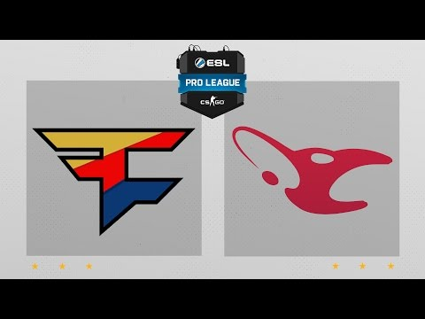 CS:GO - FaZe Vs. Mousesports [Dust2] Map 1 - ESL Pro League Season 4 - EU Matchday 14