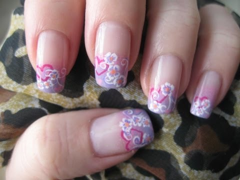 Nail art: Sweet Valentine Collaboration
