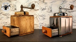 Rare Coffee Grinder Machine - Restoration, do you like coffee?