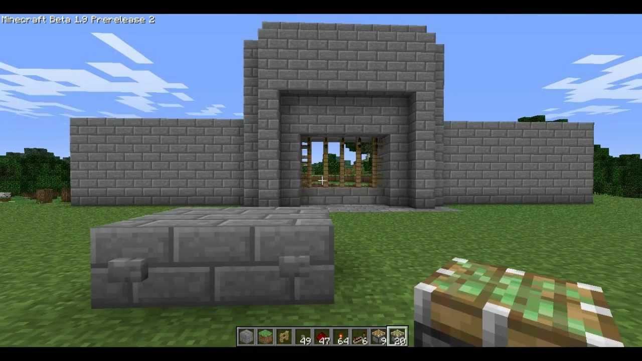 Fence Gate Design Minecraft