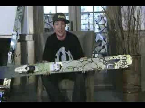 Rory Bushfield talks about the Blower ski by Nordica