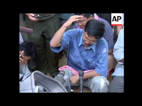 CAMBODIA: ELECTION CAMPAIGNS: PEACE & ECONOMY ISSUES