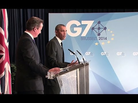 President Obama and Prime Minister Cameron Hold a Joint Press Conference