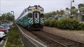 Leucadia and Encinitas Railfanning 5/14/16 National Train Day!
