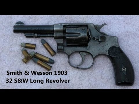 Smith & Wesson 1903 Revolver in 32 S&W Long. My Oldest Firearm