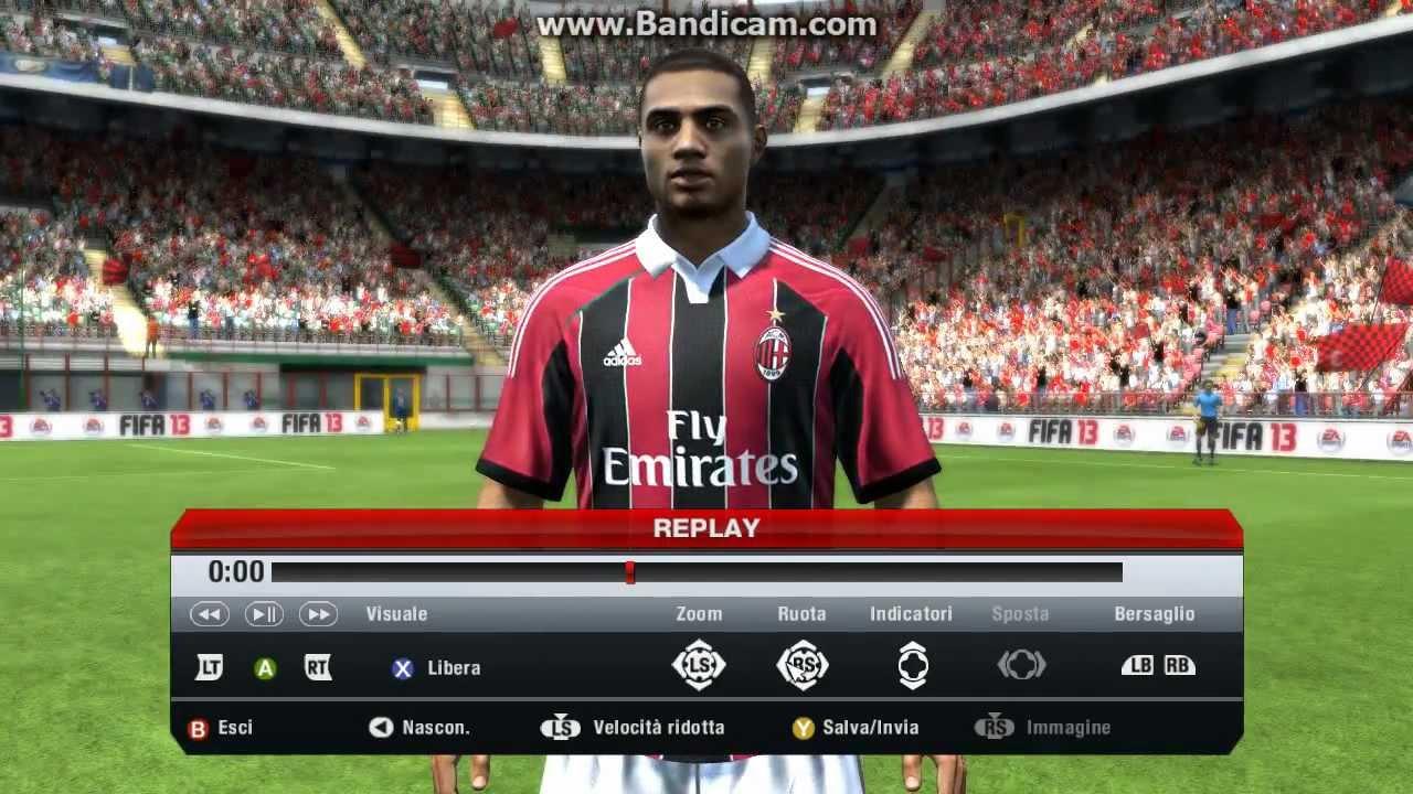 Stats Milan Fifa 13 Fifa 13 pc Milan Inter Faces