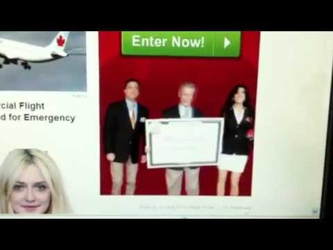 Publishers Clearing House Takeover Ad for October 2012 TV Event