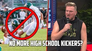 Pat McAfee On High Schools Ditching Kickers