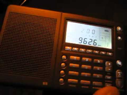CBC North Quebec 9625 kHz received in Germany on Etn E5