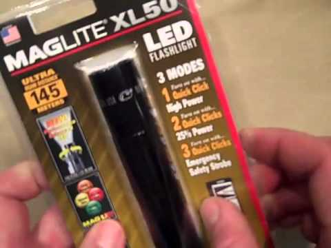 Maglite XL50 Review