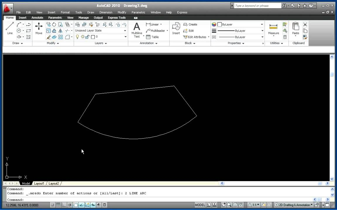 Autocad 2010 – Created By Kyle Metzger, Wisconsin
