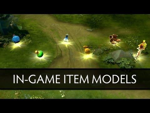 Dota 2 New In-Game Item Models