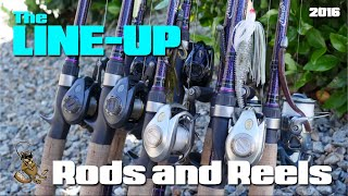The Line Up: Rods and Reels (2016)