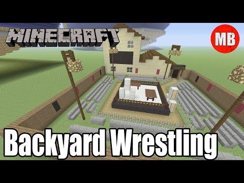 Minecraft Backyard Wrestling Arena!