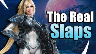 Starcraft Slapdown! Nova W Justice - Heroes of the Storm w Kiyeberries