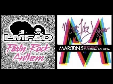 Party Like Jagger ( Moves Like Jagger   Part Rock Anthem Mashup ) video