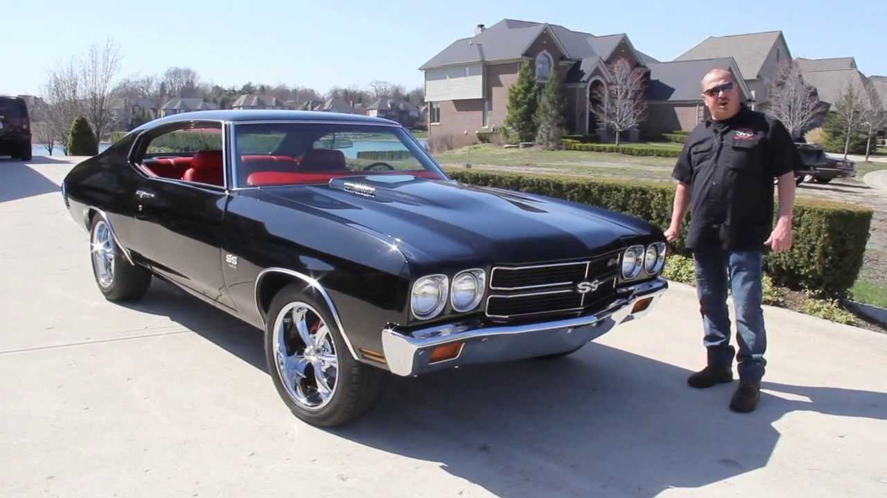 1970 Chevrolet Chevelle Classic Muscle Car For Sale In Mi