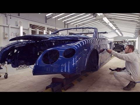 Paint and Assembly - /INSIDE BENTLEY