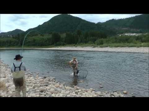 Gaula Salmon 2013 - Kursfilm mit Bernd Kuleisa - Norwegian Flyfishers Club