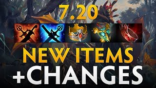 Dota 2 Patch 7.20 - New items and Changes