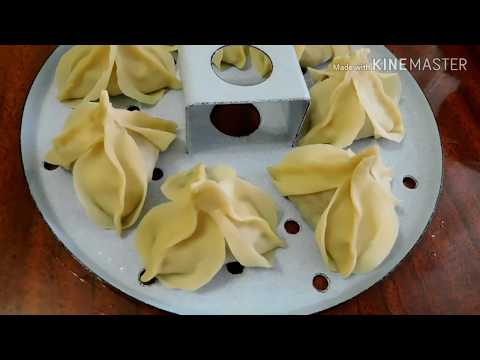 Новинка Манты узбекский манты орхидеи/как приготовить манты/как лепить манты розочки/узбекская кухня