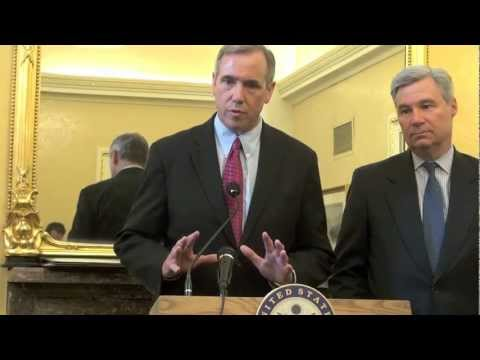 Senators Sheldon Whitehouse and Jeff Merkley Press Conference on the DISCLOSE Act