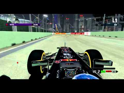 F1 2012 Classification Singapore Highlights (22/09/2012)