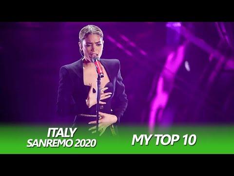 SANREMO 2020 | My Top 10 | Eurovision Italy