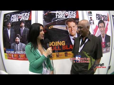 Latin American & Caribbean Tyre Expo 2012 - Exhibitor Interviews - English
