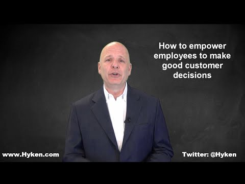 Customer Service Expert Says Empower Employees to Help Customers
