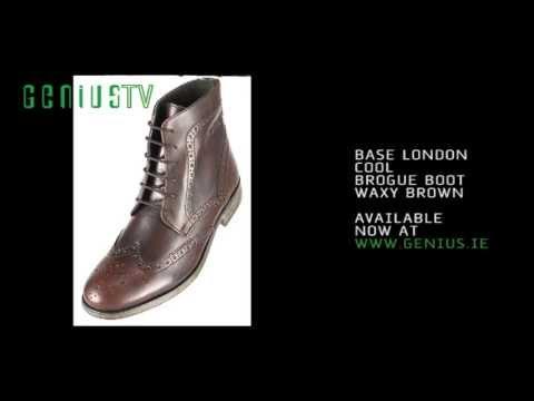 Base London Cool Brogue Boot @ www.genius.ie